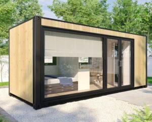 Wohncontainer-Kabine mit Dusche V-2