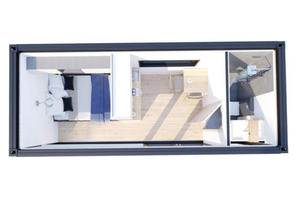 Container House V3 Gebäudeplan