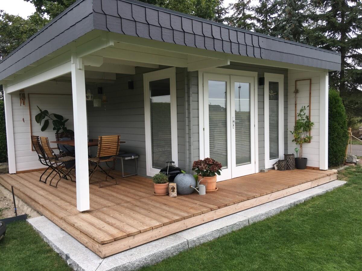 Gartenhaus winterfit