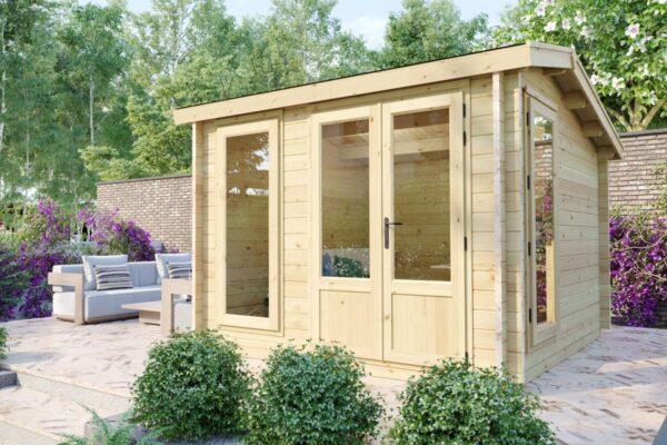 "Gartenhaus-aus-Holz-""Mini-Gartenburo-1-DS-DS"