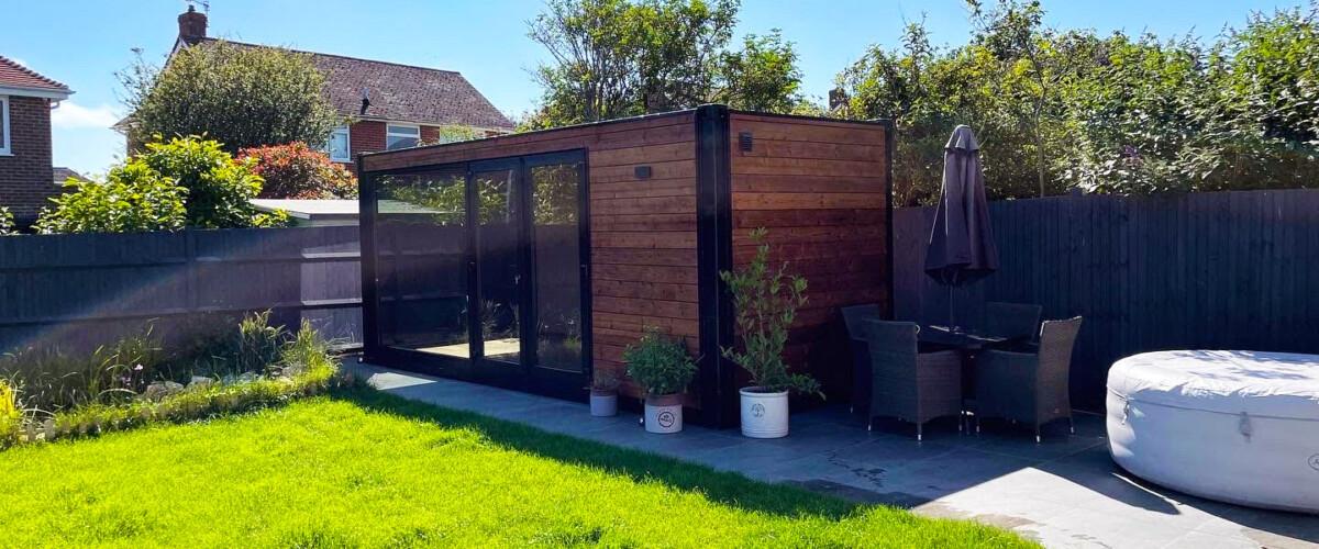 Gartenhäuser in der Gartengestaltung und Landschaftsgärtnerei