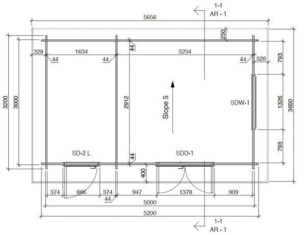 Kombiniertes-Gartenhaus-und-Schuppen-Super-Tom-DS